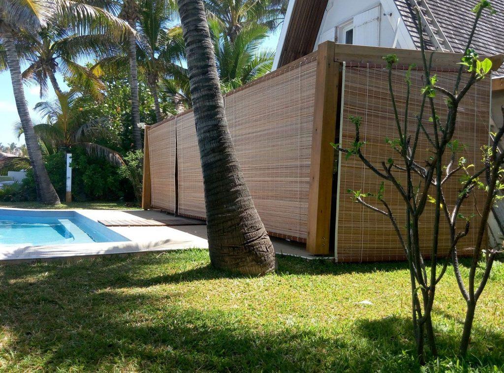 Store bambou sur mesure store exterieur bambou for Store en bambou exterieur