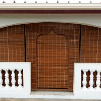 store porte orientale teck